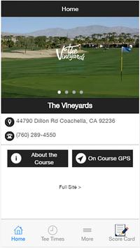 The Vineyards Golf Resort poster