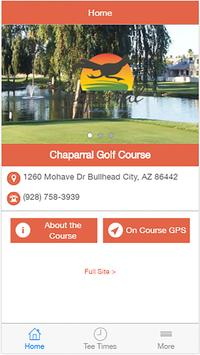 Chaparral Golf & Country Club poster