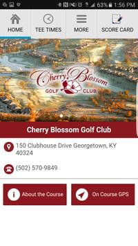 Cherry Blossom Golf Club poster
