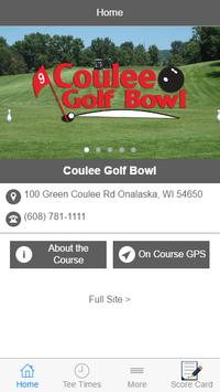 Coulee Golf Bowl poster