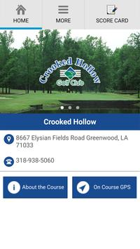 Crooked Hollow Golf Club poster