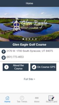 Glen Eagle Golf Course poster