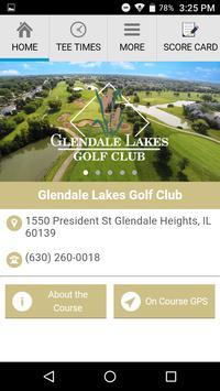 Glendale Lakes Golf Club poster