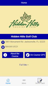 Hidden Hills Golf Club poster