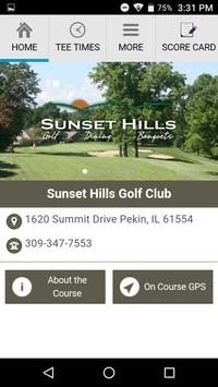 Sunset Hills Golf Club poster