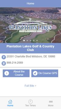Plantation Lakes Country Club poster