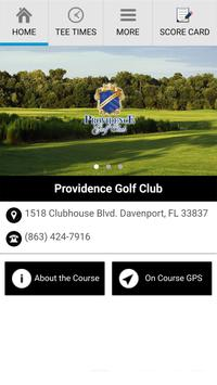 Providence Golf Club poster