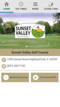 Sunset Valley Golf Club poster