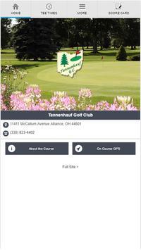 Tannenhauf Golf Club poster