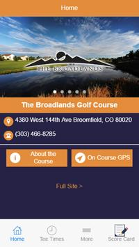 The Broadlands Golf Course poster