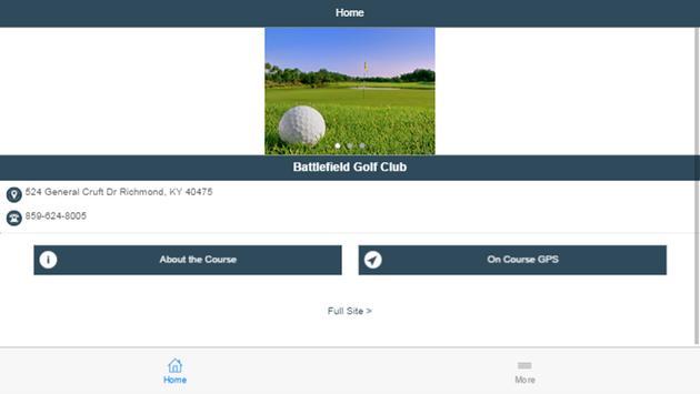 Battlefield Golf Club apk screenshot
