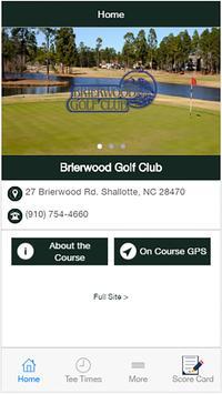 Brierwood Golf Club poster