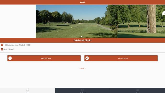DeKalb Park District Golf apk screenshot