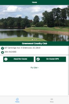 Greenwood Country Club poster
