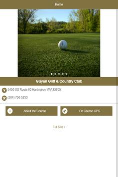 Guyan Golf and Country Club poster