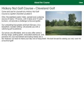 Hickory Nut Golf Course apk screenshot
