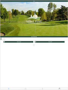 Lone Pine Golf Club apk screenshot