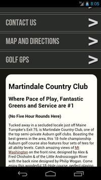 Martindale Country Club screenshot 1