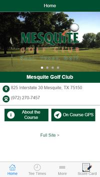 Mesquite Golf Club poster
