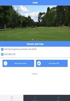 Othello Golf Club poster