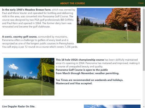 Panorama Golf Course apk screenshot