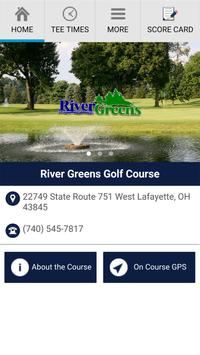 River Greens Golf Course poster