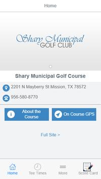 Shary Municipal Golf Club poster