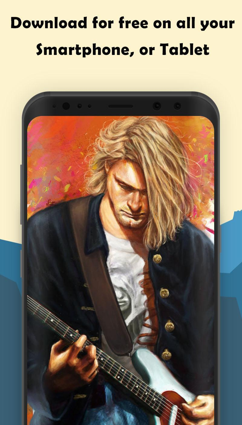 Kurt Cobain Wallpaper poster