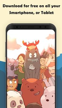 Android we bare bears wallpaper apk we bare bears wallpaper voltagebd Images