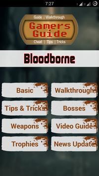 Gamer's Guide for Bloodborne poster