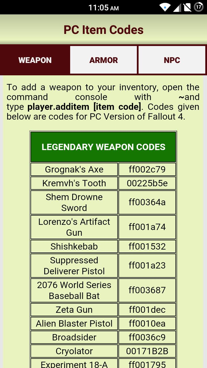 Gamer's Guide for Fallout 4 for Android - APK Download