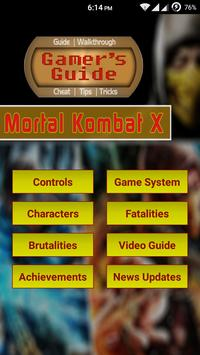 Guide for Mortal Kombat X poster
