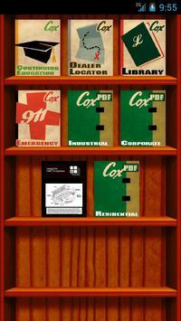 Coxwood Bookshelf apk screenshot