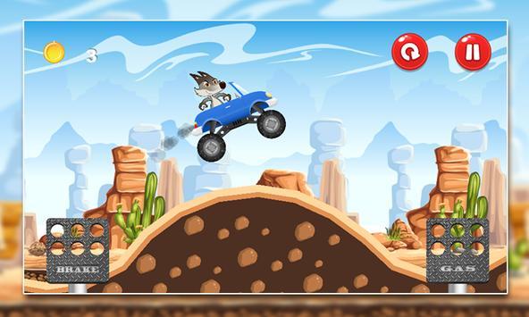 Coyote Mountain Climb MMX screenshot 4