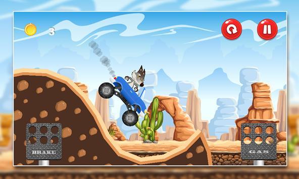 Coyote Mountain Climb MMX screenshot 7