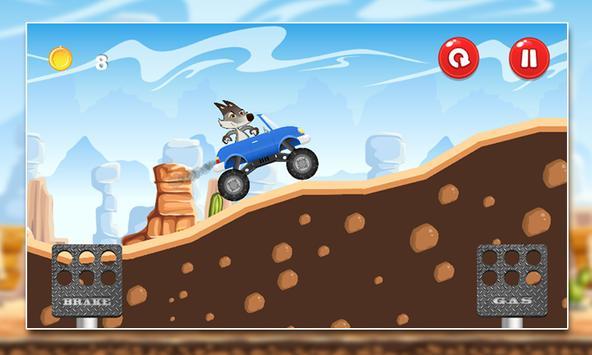 Coyote Mountain Climb MMX screenshot 2