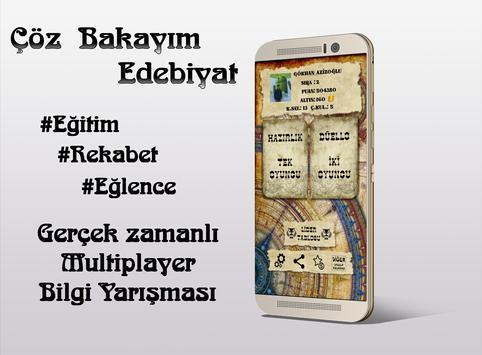Çöz Bakayım Edebiyat Duello poster