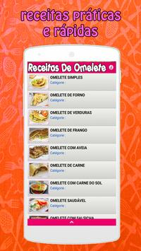 Receitas de Omelete screenshot 4