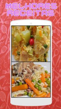 Arroz de Peixe com Legumes - Receitas poster