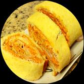 Rocambole de arroz com carne moída - receitas icon