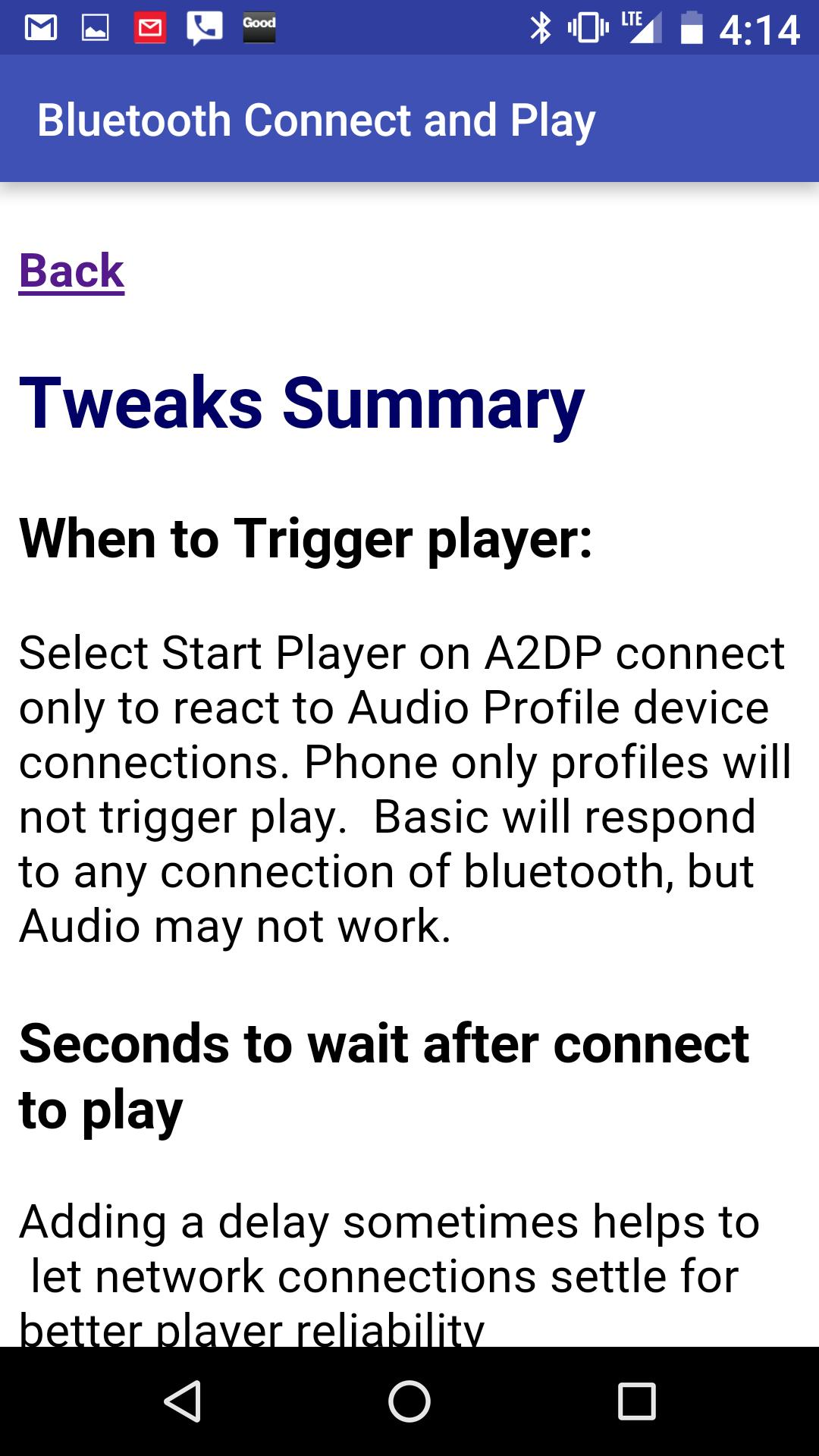 Bluetooth connect & Play for Android - APK Download