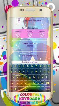 Colorful Keyboard Themes apk screenshot