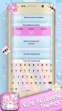 Cute Keyboard Themes poster