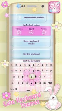 Cute Keyboard Themes apk screenshot
