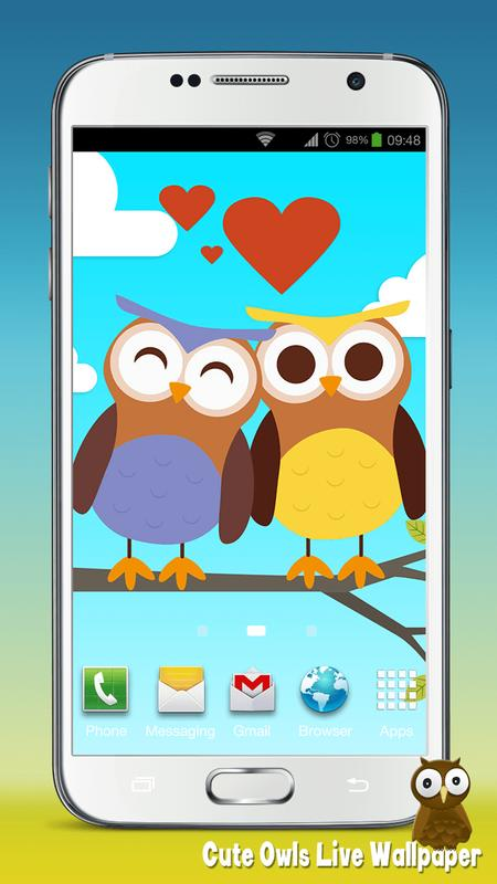 cute Owls Live Wallpaper APK Download - Free ...