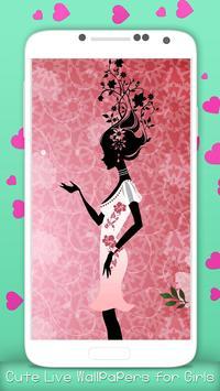 Cute Live Wallpapers for Girls screenshot 3