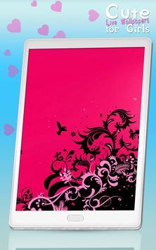 Cute Live Wallpapers for Girls screenshot 5