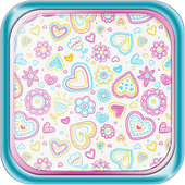 Cute Patterns Live Wallpaper icon