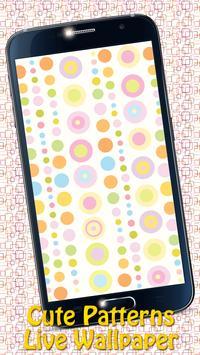 Cute Patterns Live Wallpaper apk screenshot