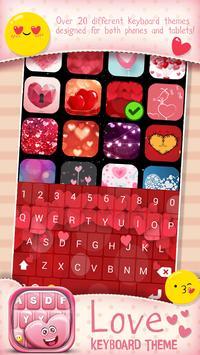Love Keyboard Theme poster